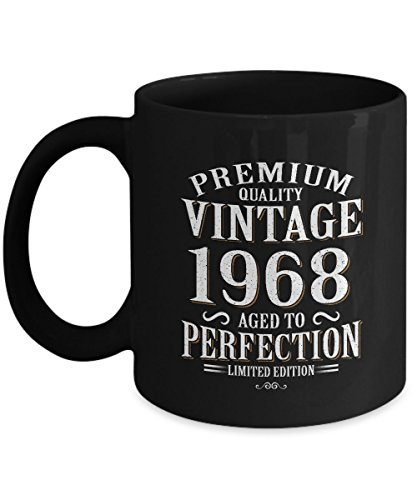 Sterling Gold Iced Beverage (49th Funny Anniversary Gifts Ideas Aged Premium Quality Vintage 1968 Perfection Limited Edition 11oz Mug)