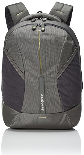 (Samsonite 4Mation Backpack Casual Daypack, 39 cm, 21 Liters, Small, Olive/Yellow/Green)
