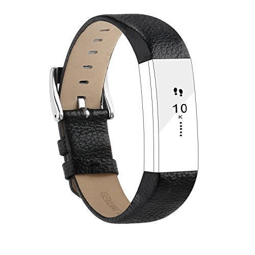 POY For Fitbit Alta HR Bands and for Fitbit Alta Bands, Genuine Leather Replacement Bands for Fitbit Alta and for Fitbit Alta HR