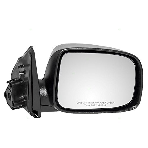 (Passengers Manual Side View Mirror Replacement for 04-12 Chevrolet Colorado GMC Canyon 06-08 Isuzu Pickup Truck 15246903)