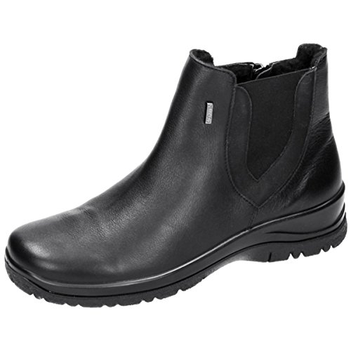 Comfortabel Damen Stiefel schwarz, 990839-1 schwarz