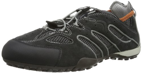 Uomo C0105 Grigio Grey Snake dk grey Geox L Sneaker q4ntZ