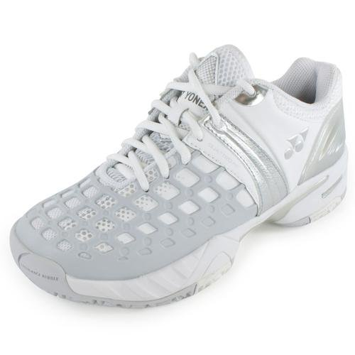 Yonex Women`s Power Cushion Pro Tennisschoenen Wit En Grijs- (stprolwg-s14)