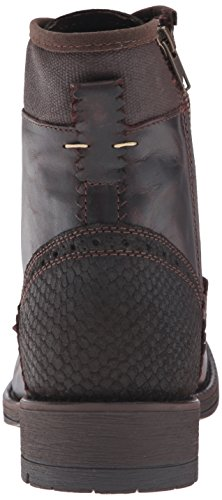Steve Madden Mens Nevins Boot Dark Brown