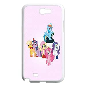 SamSung Galaxy Note2 7100 phone cases White My Little Pony cell phone cases Beautiful gifts NYTR4635965