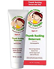 Thumb Thumb NO Thumb Natural Dentist Approved Thumb Sucking Deterrent for Kids