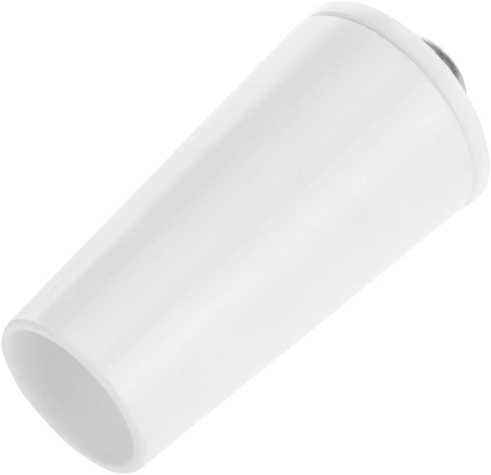 PrimeMatik Arr/êts de Volets du 40mm pour Volets roulants en Blanc