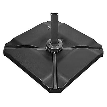 Cantilever Parasol Base Slabs By Nova Offset Patio Umbrella Stand