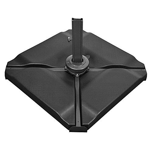 Color Negro Soporte para sombrilla de jard/ín Nova Outdoor Living