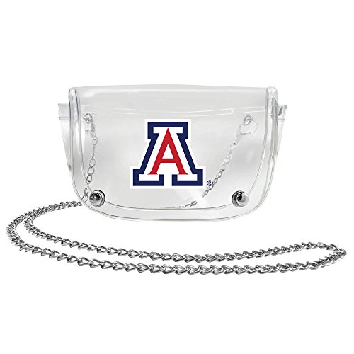 NCAA Arizona Wildcats Clear Waist Pack/Crossbody Purse (Wildcats Purse)