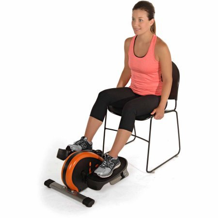 Stamina Electronic Fitness Peddler InMotion Elliptical with Adjustable Tension and Monitor, Orange by Stamina* (Image #2)