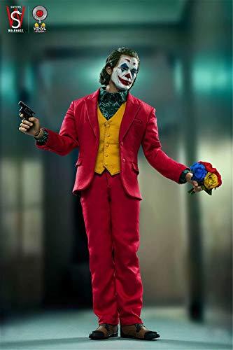 【R・DOLL】 pos/6 피규어 소체남성 헤드 슈트 가죽 구두 세트 조커 《호아킨》 피닉스 Joaquin Phoenix VINYL STUDIO-V003 영화 구미 범죄 리얼 SWTOYS FS027