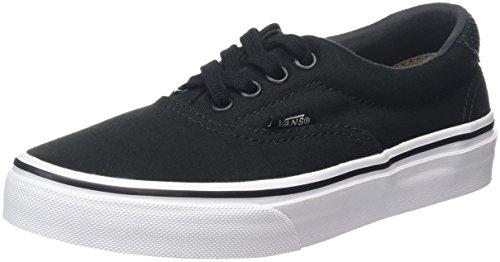 Vans Era 59, Zapatillas Unisex Niños Negro (C&P black/true white)