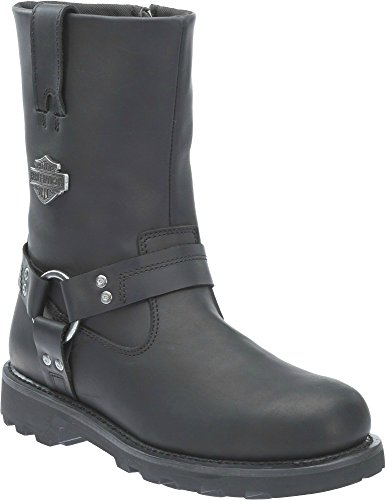 Harley-Davidson Men's Mansfield Motorcycle Riding Boots (13 D(M) (Harley Davidson Shocks)