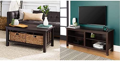 Deal of the week: Walker Edison Alayna Mission Style Two Tier Coffee Table