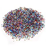 144pcs x 10 couleur Strass thermocollant multicolore tranparent à repasser
