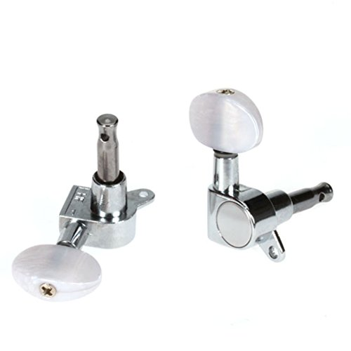 3 pairs sealed electric guitar tuning pegs tuners machine heads musicians territory. Black Bedroom Furniture Sets. Home Design Ideas
