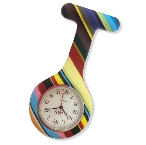 17 opinioni per Boolavard® TM Orologio da infermiere in silicone con spilla- orologio tascabile