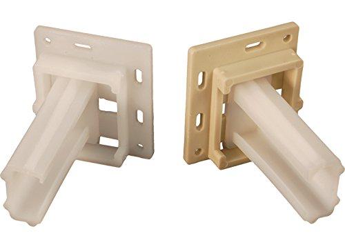 - RV Designer H306, Drawer Slide Socket Set, Small C - Shape, 2 Per Pack, Cabinet hardware