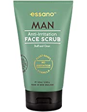 Essano Man Anti-Irritation Face Scrub, 100ml