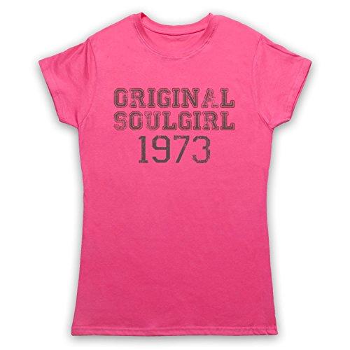 Soul Girl 1973 Northern Soul Camiseta para Mujer Rosa