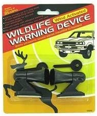 WeTest 4 PCS Deer Whistles Deer Warning Devices for Cars /& Motorcycles with Extra Bases Silver