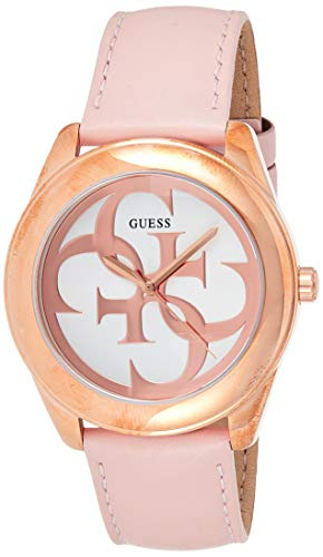 Guess G Twist Quartz Movement White Dial Ladies Watch W0895L6
