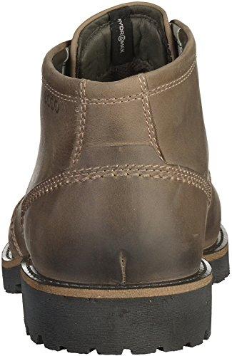 EccoJamestown - botines de caño bajo Hombre pardo