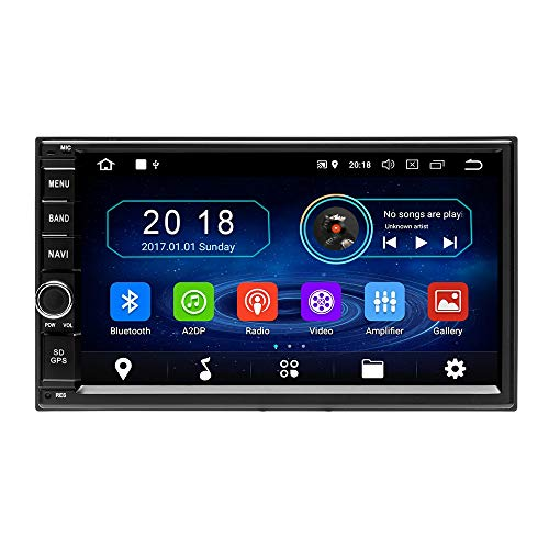 Podofo Android Car Stereo Double Din Car Radio GPS, used for sale  Delivered anywhere in Canada
