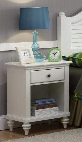Bermuda White Night Stand