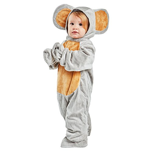 Wilton Toddler Grey Mouse Costume Size 2-4T -