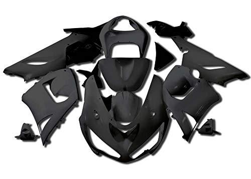 (Sportbike Deals AZDK303BCK Body Kit (Kawasaki Zx-6R/636 2005-2006, Abs Plastic Painted Black))