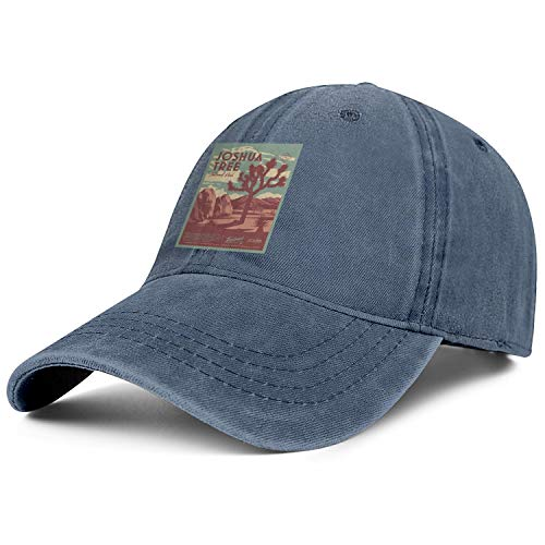 Unisex Men Adjustable Joshua Tree National Park Baseball Cap Athletic Cowboy Hats