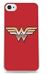 Wonder Woman Apple iPhone 5 / 5 S Silicone Case - White