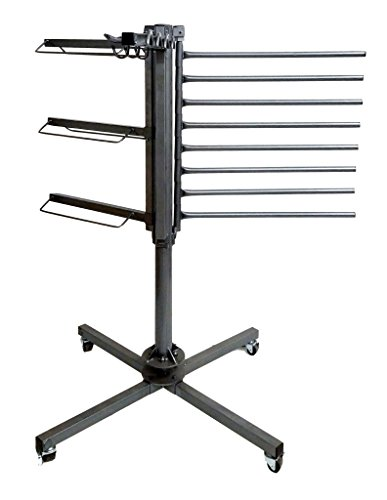 Equiracks Tack Rack Rotary Versatile Multi Storage Steel Gray RTR-1083 by Equi-Racks