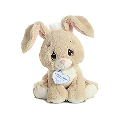 "Aurora - Precious Moments - 8.5"" Floppy Bunny Tan: Toys & Games"