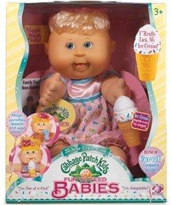 2007 Cabbage Patch Kids Babies Celebration Baby Licks Ice Cream Cone