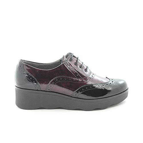 Bordeaux Noir Femme 113127 Benavente Chaussures BqI7wtF1