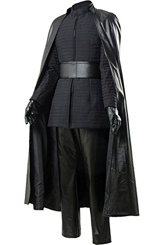 CosplaySky Star Wars 8 The Last Jedi Kylo Ren Costume Halloween Outfit Medium by Cosplaysky (Image #2)
