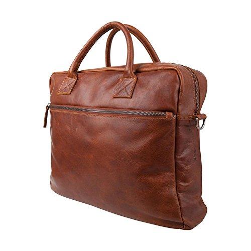 Cowboysbag 1030 Unisex-Erwachsene Henkeltaschen 42x27x15 cm (B x H x T) Grau (Elephant Grey 135)
