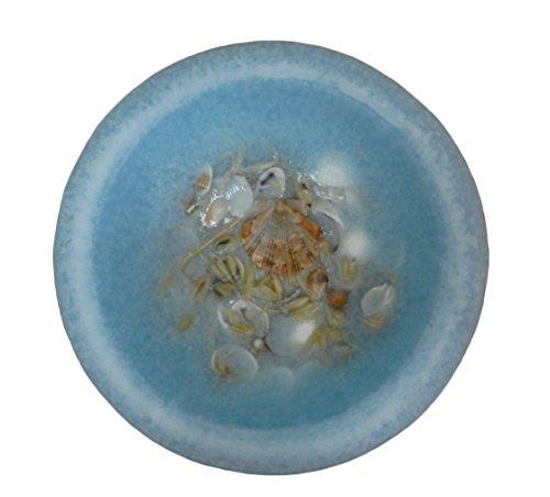 - Habersham Candle Company Seascape Wax Pottery Vessel