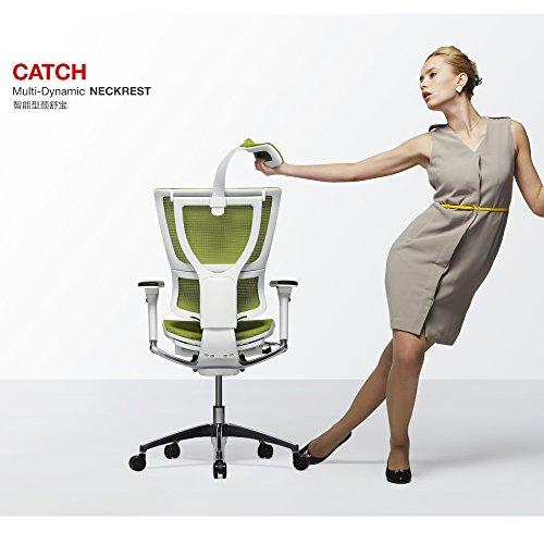 Ergohuman Black Mesh Hi Swivel Chair Mesh Office Chair (Green) price