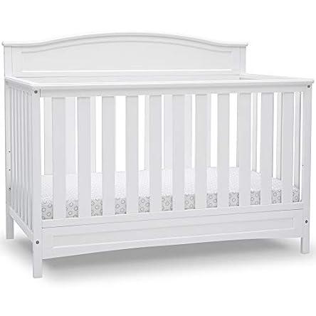 Delta Children Emery Deluxe 6-in-1 Convertible Crib,...