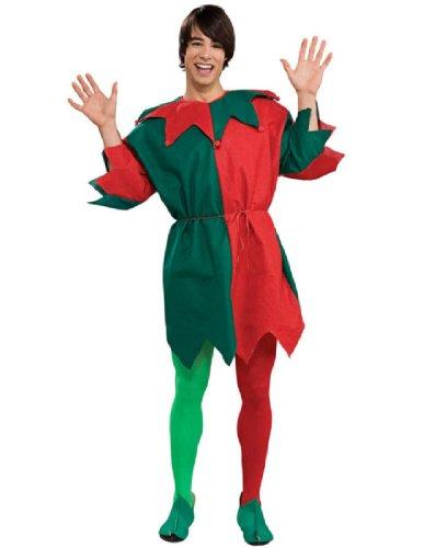 Rubie's Costume Men's Economy Elf Tunic, Multicolor, One Size (Mens Halloween Costumes Ideas)