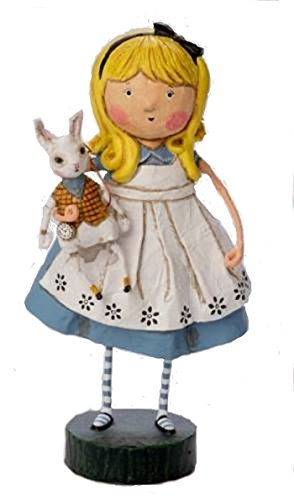 Lori Mitchell Alice Holding White Rabbit New Storybook Collection
