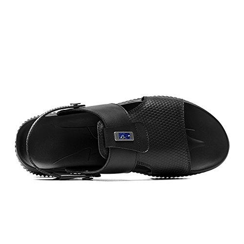 SK Estilo Sandalias Slides Hombre 1 Cuero Zapatos Studio de para F84rxwHFq