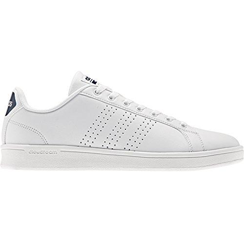 adidas Cf Advantage Cl, Zapatillas de Running para Hombre, Turquesa Azul (Ftwr White/collegiate Navy)