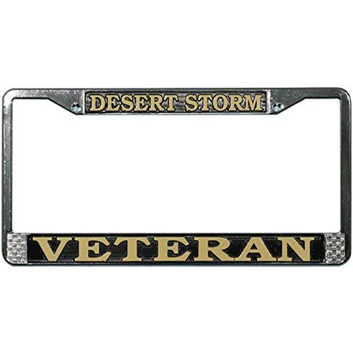 Honor Country Desert Storm Veteran License Plate Frame