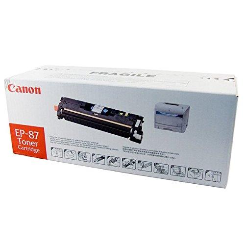 (Original Canon EP-87BK (7433A005AA) Black Toner Cartridge - Retail)