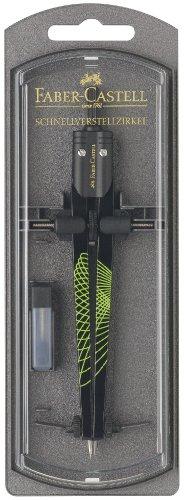 Faber-Castel 174488 - Schnellverstellbarer Zirkel Ultra AWF in Plastikbox